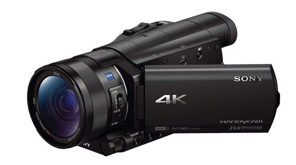 Our Latest 4K Sony camcorder